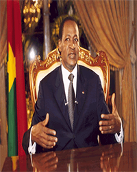 BURKINA FASO African Presidents