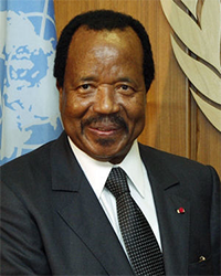 CAMEROON African Presidents