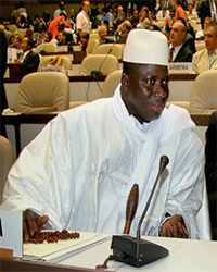 GAMBIA African Presidents