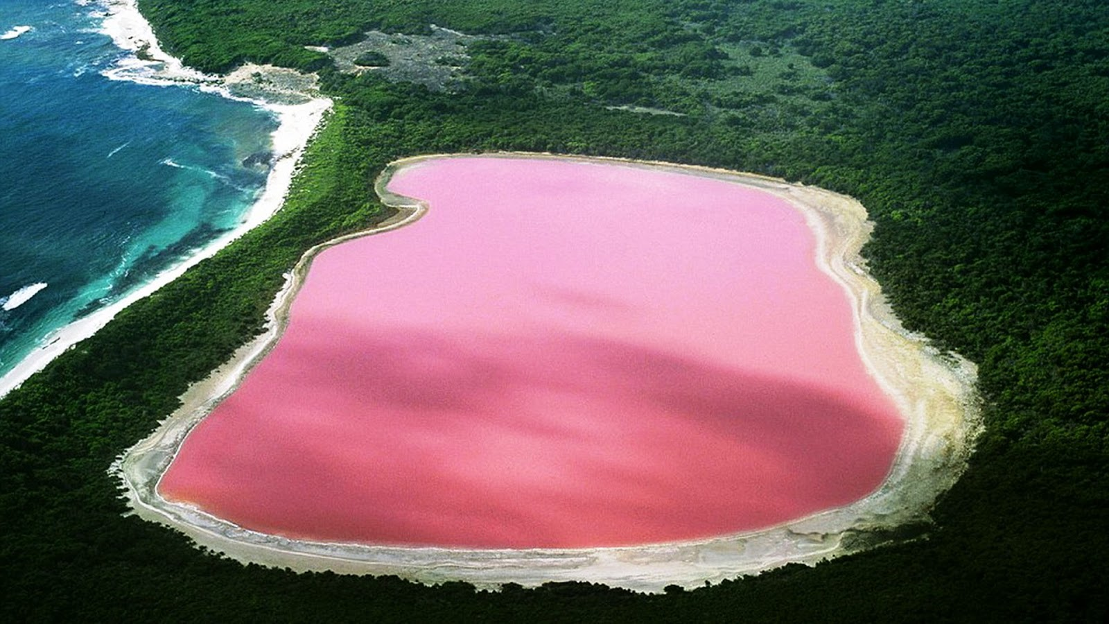 salty lake retba