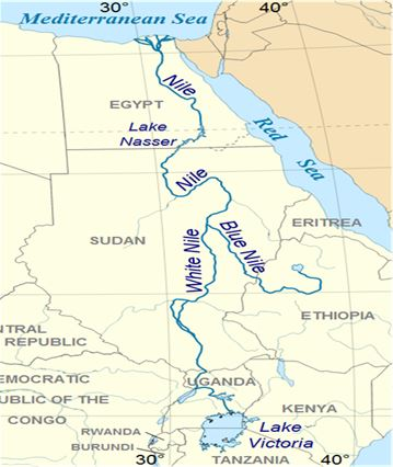 Lake Volta Africa Map.List Of Top 10 Rivers In Africa Fortune Of Africa Investment In