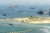 Oil contributes over 90% of exports