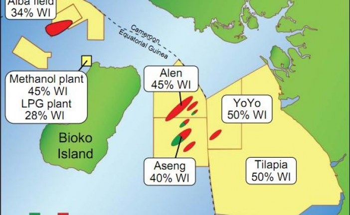 Proven oil and gas reserves in Cameroon