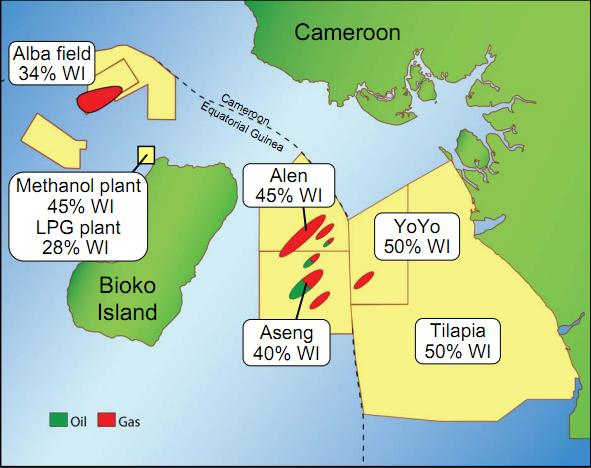 cameroon oil and gas rigs